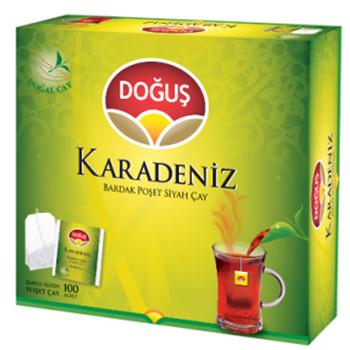 Doğuş Karadeniz Bardak Poşet Çay Bergamotlu 2 Gr 100'lü