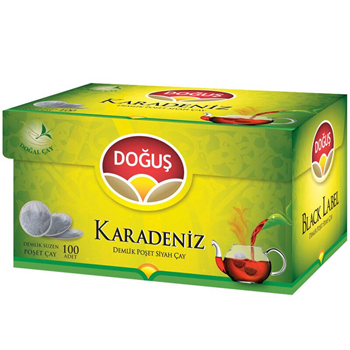 Doğuş Karadeniz Demlik Poşet Çay Bergamotlu 100'lü