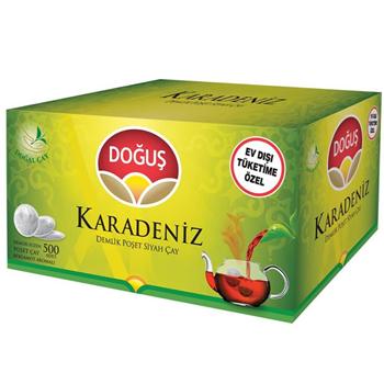 Doğuş Karadeniz Demlik Poşet Çay Bergamotlu 500'lü