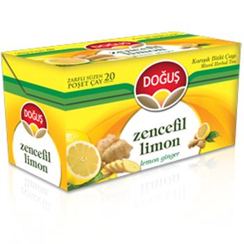 Doğuş Zencefil Limon Bitki Çayı 2 gr 20'li