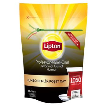Lipton Profesyonellere Özel Harman Jumbo Demlik Poşet Çay 25 gr 30'lu