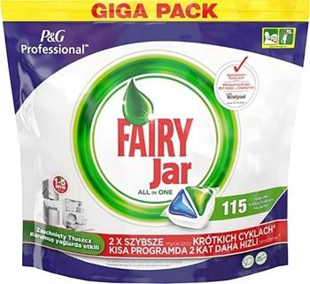 Fairy Jar Hepsi Bir Arada Bulaşık Makinesi Tablet 115'li