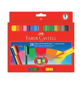 Faber-Castell Eğlenceli 112000 Keçeli Kalem  20 Renk