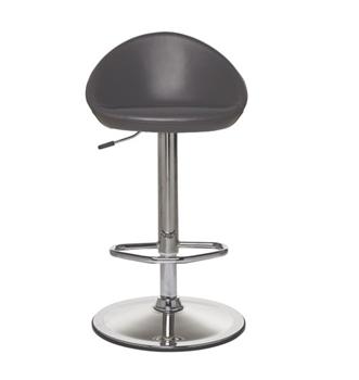 Seduna Leslie Bar Sandalyesi Metal Ayaklı Siyah