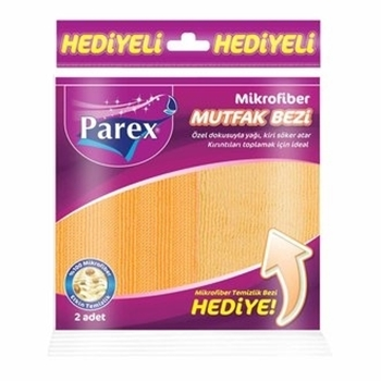 Parex Mikrofiber Temizlik Bezi 2'li Karma Paket