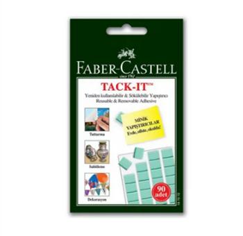 Faber-Castell Tack-it Yapıştırıcı  Yeşil
