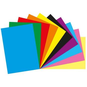 Bigpoint Fon Kartonu 50X70 cm 160 gr Karışık Renkli
