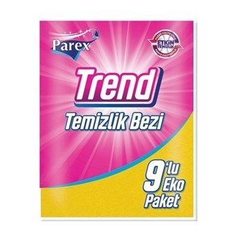 Parex Trend Temizlik Bezi 9'lu