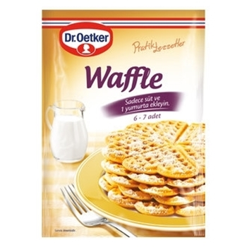 Dr. Oetker Waffle Karışımı 210 gr 12'li Koli