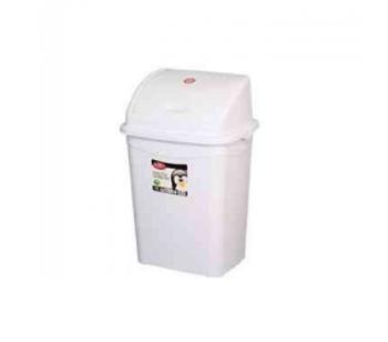 Plastik Sallanır Kapak Çöp Kovası 4 lt