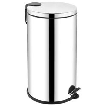 Krom Pedallı Çöp Kovası 20 lt