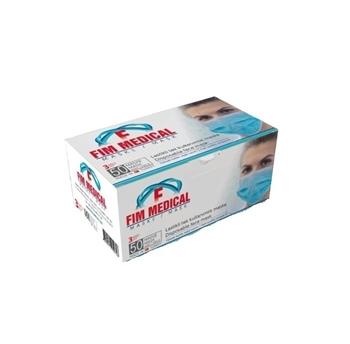 Fim Medical Meltblown Cerrahi Maske 50'li 3 Katlı Telli (Sertifikalı-Özel Ürün)