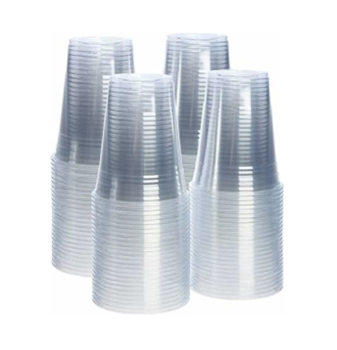 Plastik Bardak 180 Ml. 3000'li Şeffaf