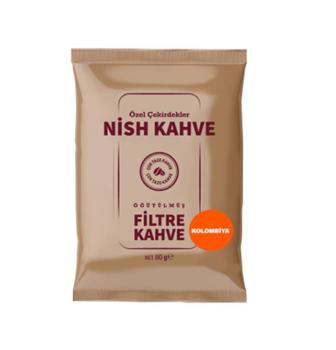 Nish Colombia Filtre Kahve 80 Gr