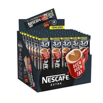 Nescafe 3 ü 1 Arada Kahve 16.5 gr Extra 48'li