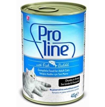 Proline Soslu Balıklı Kedi Konservesi  415 Gr