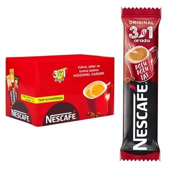 Nescafe 3'ü 1 Arada Kahve 72'li Paket - kopya