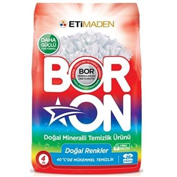 Boron Toz Deterjan 4 kg Renkli