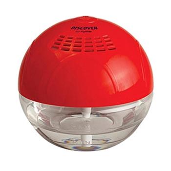 Discover Air Purifier Sihirli Küre Hava Temizleme Cihazı Kırmızı