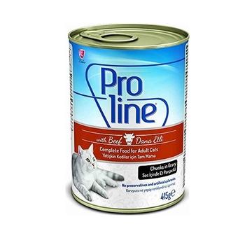 Proline Soslu Biftekli 415 gr Yetişkin Kedi Maması Konservesi