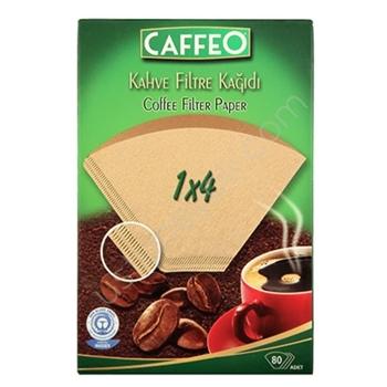 Caffeo  Kahve Filtre Kağıdı 1/ 4 80 li Paket