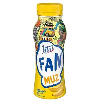 İçim Fan Muzlu Süt 200 ml