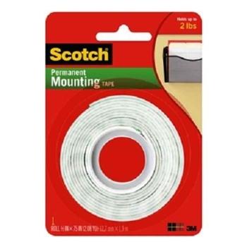 3M Scotch Köpük 110 Çift Taraflı Bant 12,7 mm x 1,9 m