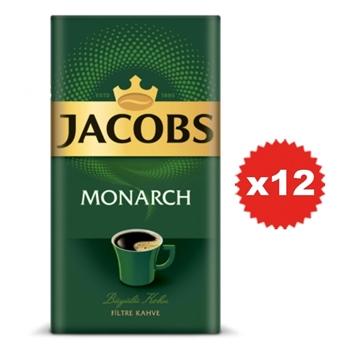 Jacobs Monarch Filtre Kahve 250 gr  x 12 Paket