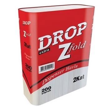 Drop Z Katlı Kağıt Havlu 21 x 22.5 cm 12'li