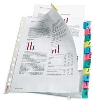 Esselte Ayraçlı Poşet Dosya 12 Sayfa Şeffaf 414170
