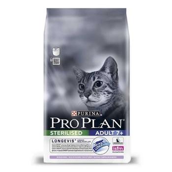 Pro Plan Sterilised Kısırlaştırılmış (+7 Yaş) Yaşlı Kedi Maması Hindi Etli 3 kg