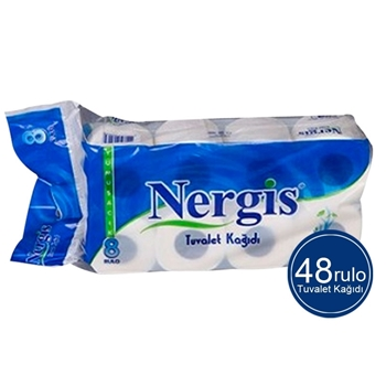 Nergis Tuvalet Kağıdı 48 Rulo