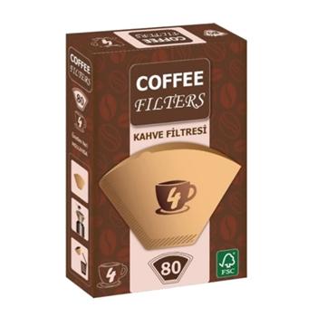 Coffee Filters Filtre Kahve Kağıdı No: 4 80'li
