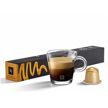 Nespresso Caramel Creme Brulee Kapsül Kahve Klasik 10'lu