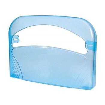 Palex 3460-1 Plastik Klozet Kapak Örtüsü Dispenseri Şeffaf Mavi