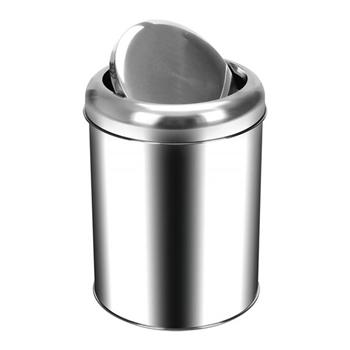 Palex 3822-32 Krom Pratik Kapaklı Çöp Kovası 32 lt