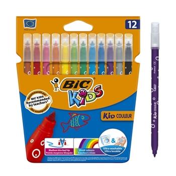 Bic Kids Color Keçeli Boya Kalemi 12 Renk