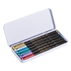 Edding 1200 Metalik Keçeli Kalem 6'lı Metal Kutu