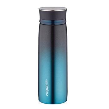 Vagonlife Paslanmaz Çelik Su Matarası 450 ml Mavi