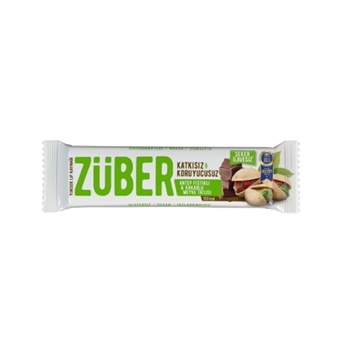 Züber Antep Fıstıklı Kakaolu Meyve Bar 40 gr