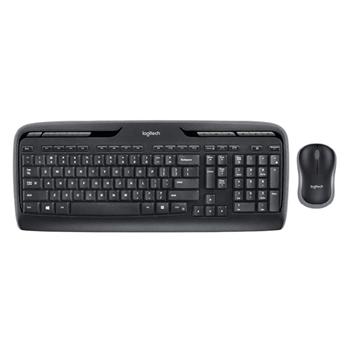 Logitech MK330 Kablosuz  Klavye ve Mouse Set Siyah