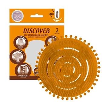 Discover Balmy Çok Amaçlı Koku Giderici Pisuvar 2'li Paket