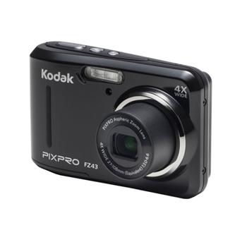 Kodak Pixpro FZ43 Friendly Zoom Dijital Fotoğraf Makinesi Siyah
