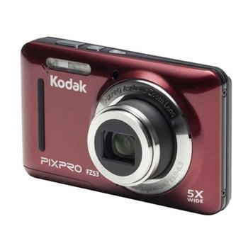 Kodak Pixpro FZ53 Friendly Zoom Dijital Fotoğraf Makinesi Kırmızı