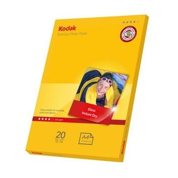 Kodak Premium Parlak inkjet 230 gr 20x30 Fotoğraf Kağıdı 20 Yaprak