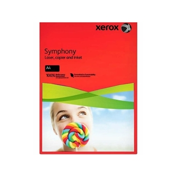Xerox Symphony Fotokopi Kağıdı A4 80 gr Kırmızı 500 Sayfa