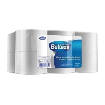 Belleza Endüstriyel Ultra Mini Jumbo Tuvalet Kağıdı 150 m 12'li