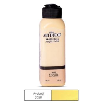 Artdeco Akrilik Boya 140 ml Ayçiçeği