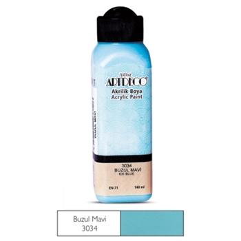 Artdeco Akrilik Boya 140 ml Buzul Mavisi