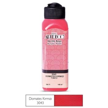 Artdeco Akrilik Boya 140 ml Domates Kırmızısı